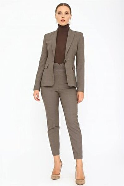 Kadın Vizon Kemeri Detaylı Pantolon K20PA047