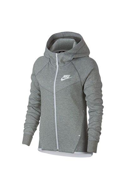 Nike Kadın Sportswear Tech Fleece Windrunner Fz Hoodie 930759-063 Sweatshirt