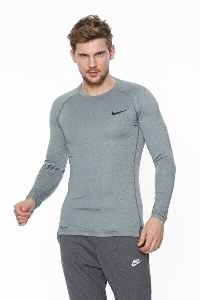 Nike Erkek Antrasit Pro Tight Sweatshirt Bv5588-068