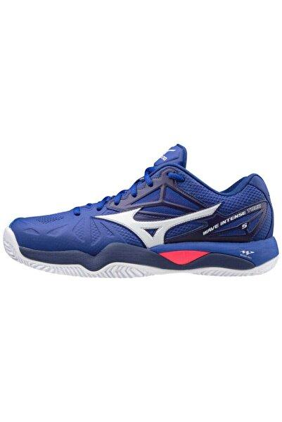 MIZUNO Erkek Mavi Tenis Ayakkabısı
