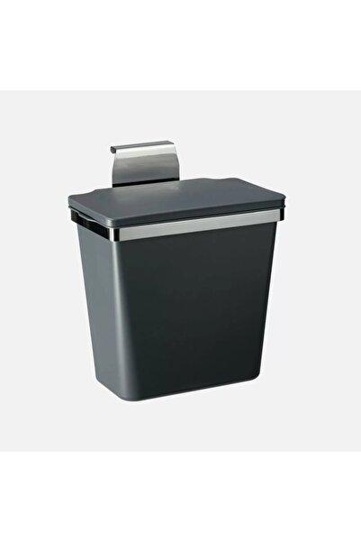 Pelikan Metal Askılı Plastik Çöp Kovası Antrasit 11lt