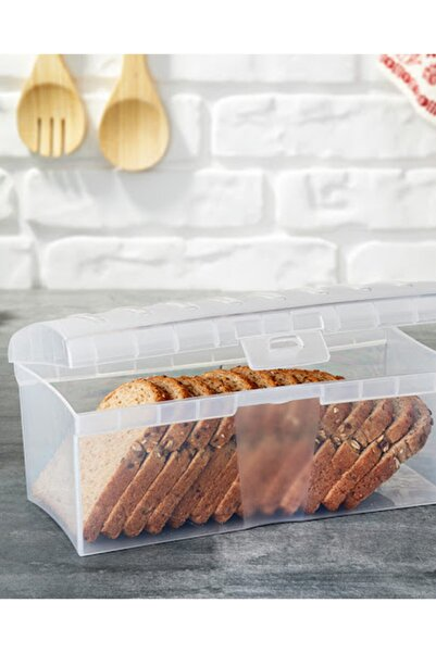 Gondol Kapaklı Kilitli Ekmek Saklama Sepeti