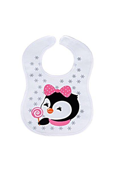 Sevi Bebe Cırtlı Havlu Mama Önlüğü Art-17 Penguen