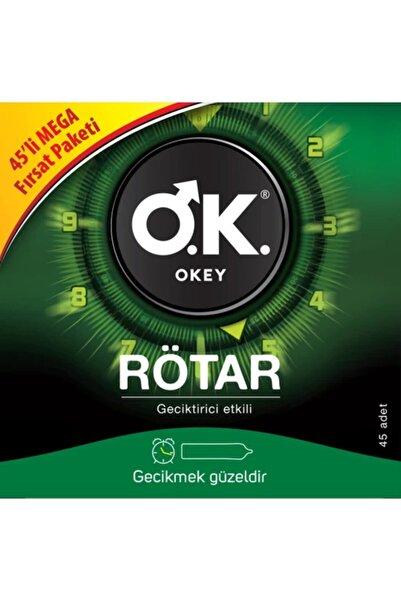 Okey Rötar 45'li Prezervatif Fırsat Paketi