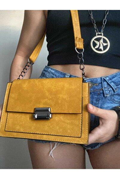 AYBUL CANTA Kadın Sarı Çanta