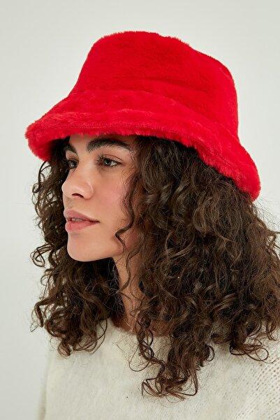 Y-London 12839-1 Kırmızı Renk Bucket Şapka
