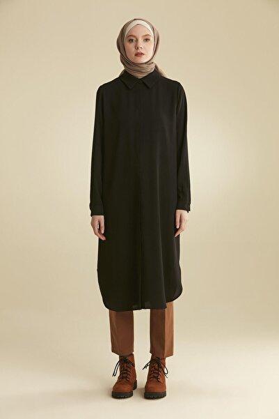 Tuğba Kadın Siyah Tunik