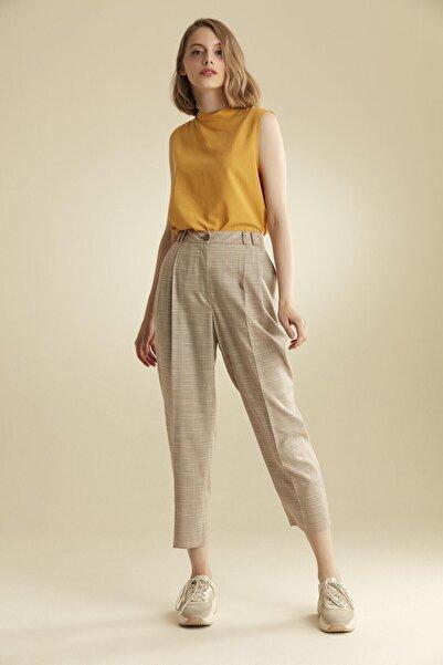 Tuğba Kadın Bej Pantolon