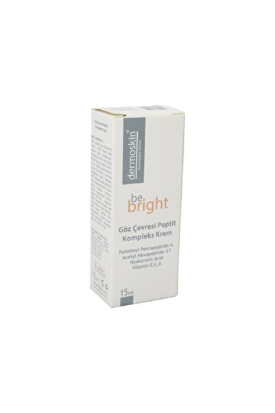 Dermoskin Be Bright Goz Cevresi Peptit Komplek Krem 15 ml