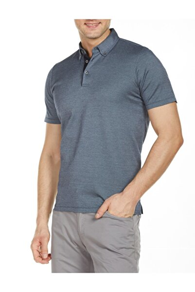 Bisse Erkek Lacivert Polo Yaka T-Shirt