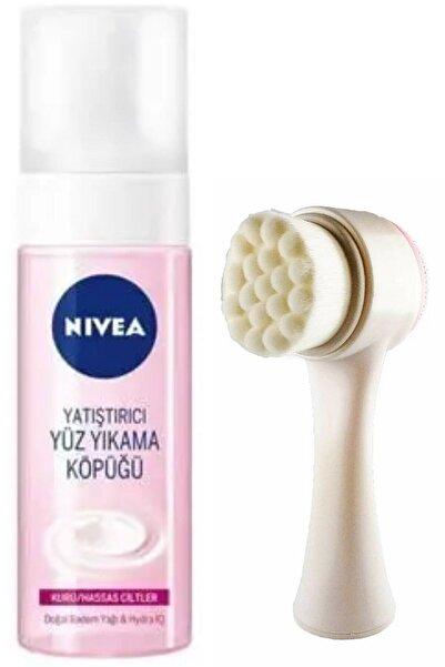 Nivea Synee Yüz Yıkama Köpüğü Kuru Ciltler 150 ml Ve Yüz Temizleme Fırçası