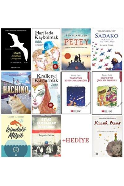 Koridor Yayıncılık -sadako -petey -martı -beyaz Zambaklar -haritada Kaybolmak -kraliçeyi Kurtarmak -hachiko 10+1 Set