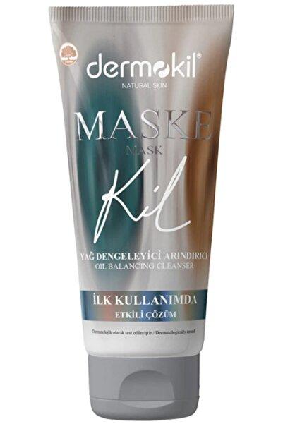 Dermokil Natural Skin Yağ Dengeleyici Arındırıcı Yüz Maskesi 75 Ml