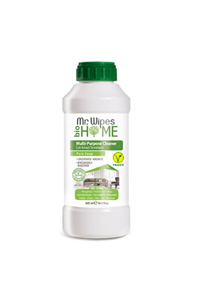 Farmasi Mr.wipes Çok Amaçlı Temizleyici Beyaz Sabun Kokulu Tekli 500 Ml.