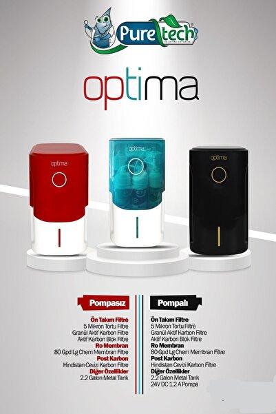 puretech Pure Tech Optima Pompalı Su Arıtma Cihazı (Siyah)