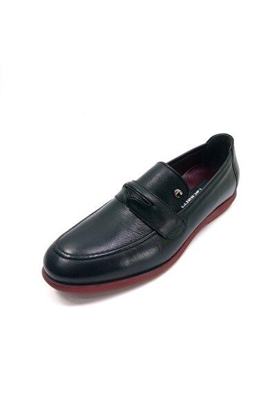 Cacharel Erkek Siyah Loafer Ayakkabı