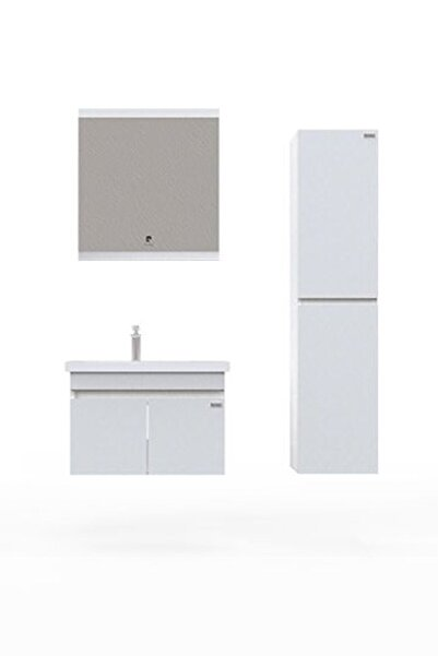 Pierre Cardin Summer 70 Cm Snow White Banyo Dolabı Beyaz Renk