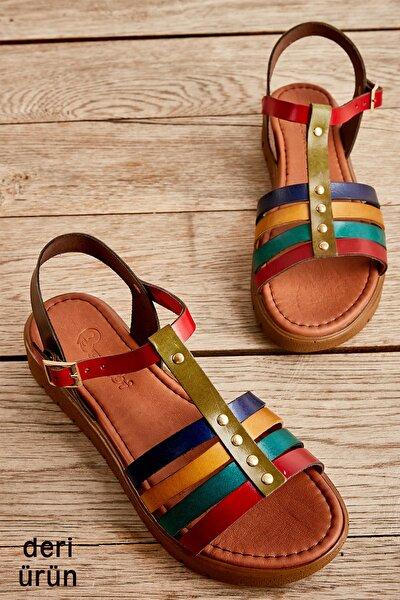 Bambi Multı Kadın Sandalet L0529030703