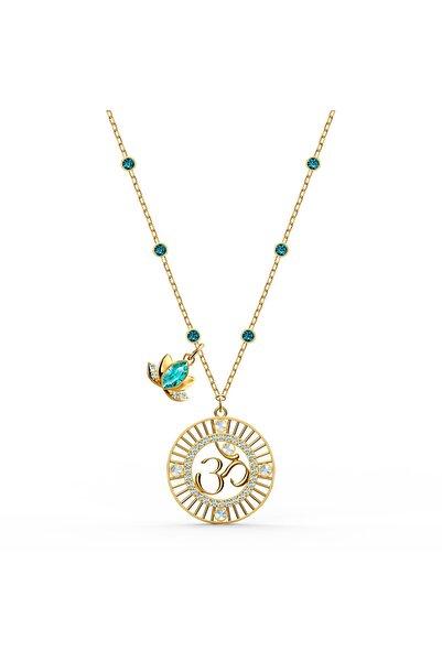 Swarovski Kolye Swa Symbol-pendant Lotus Om Lmul-gos 5521451