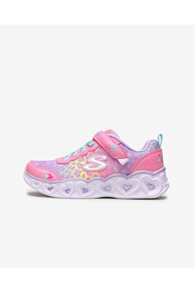 SKECHERS Heart Lıghts 302145L Pkmt Büyük Kız Çocuk Pembe Spor Ayakkabı