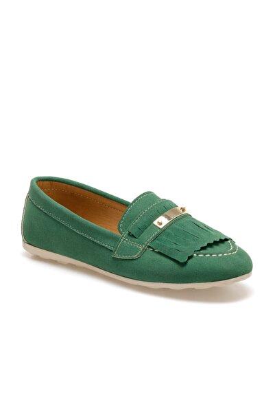 Butigo Dolly Yeşil Kadın Loafer Ayakkabı