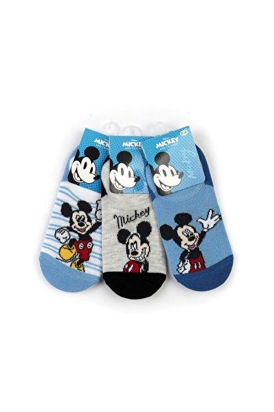 Mickey Mouse Mickey 6 Çift Sneaker Çorap 15970