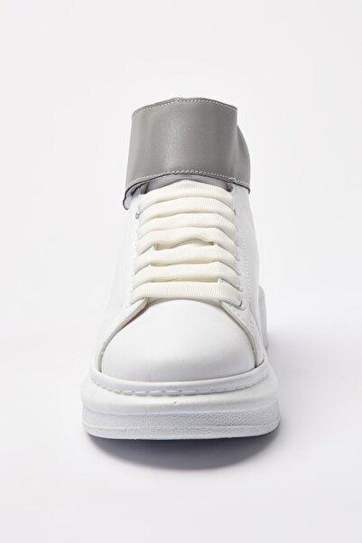 Elle Shoes Jaboe Beyaz Kadın Bot