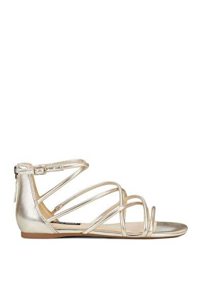 Nine West Whısper3 Altın Kadın Sandalet