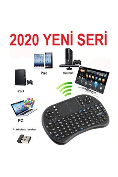 Platoon Işıklı Kablosuz Şarjlı Mini Q Klavye Mouse Smart Tv Box Ps3