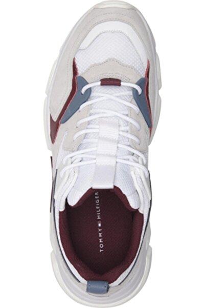 Tommy Hilfiger Chunky Materıal Mıx Sneaker