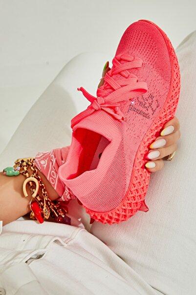 Bambi Fuşya Neon/fuşya Kadın Sneaker L0816154082
