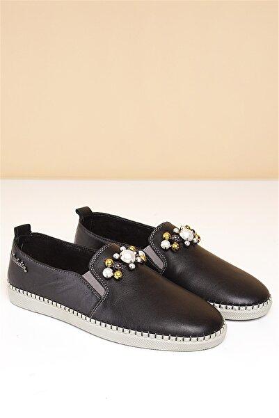 Pierre Cardin Kadın Günlük Ayakkabı-siyah Pc-5056