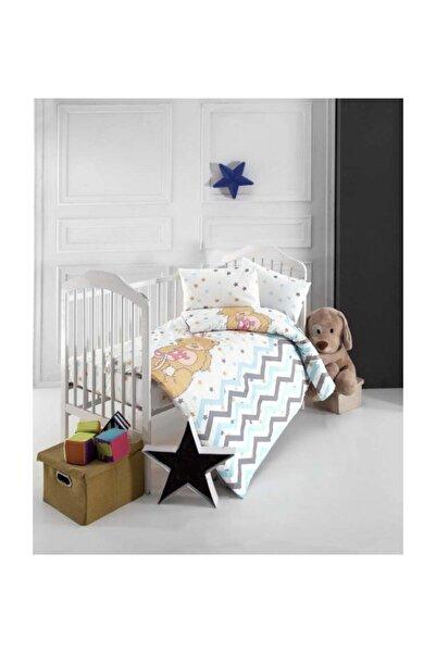 Altınbaşak Bebek Nevresim Takımı - Star Bear