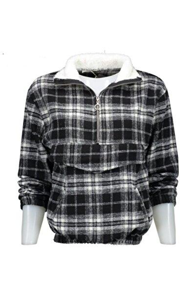 Collezione Ucb540817 Kavato Yarım Fermuar Kadın Sweatshirt