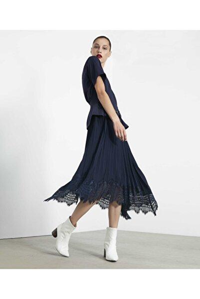 İpekyol Çift Parça Pilise Etekli Elbise