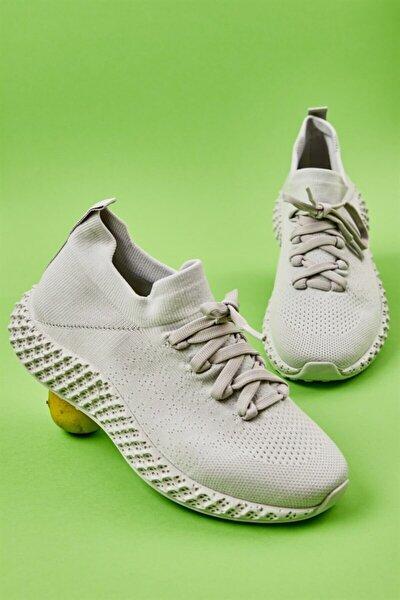 Bambi Grı/grı Kadın Sneaker L0816048882