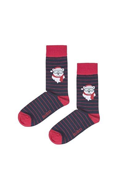 Bad Bear Scout Lacivert Uzun Çorap