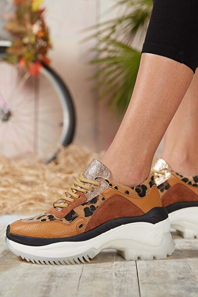 DARK SEER Taba Kadın Sneaker