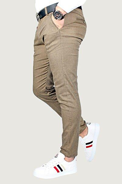 Terapi Men Erkek Keten Pantolon 8k-2200174-015 Kahverengi