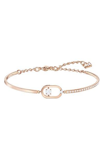 Swarovski 5472382 Bilezik North:bracelet Oval Pave Czwh/ros M 5472382