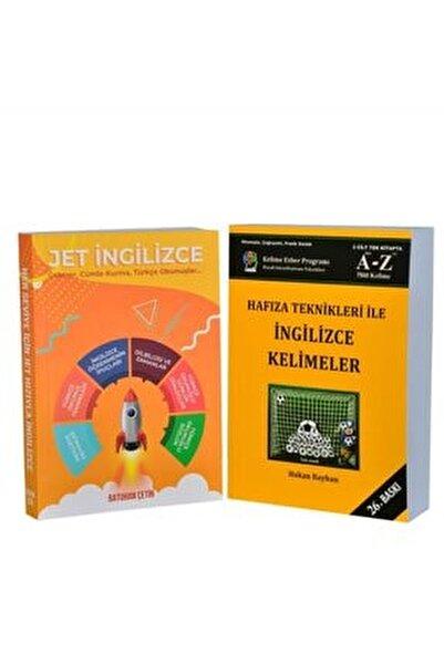 Jet Ingilizce - Hafıza Teknikleri Ile Ingilizce Kelimeler ( Ikili Set ) - Ebatları: 14x20cm