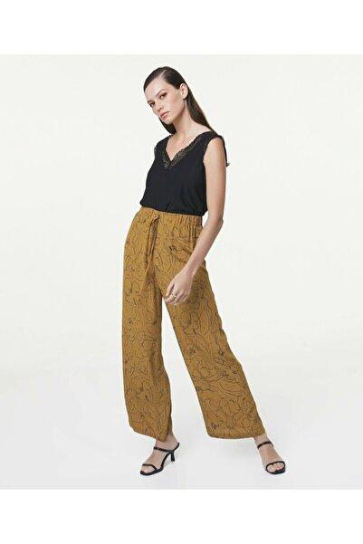 İpekyol Desenli Pantolon