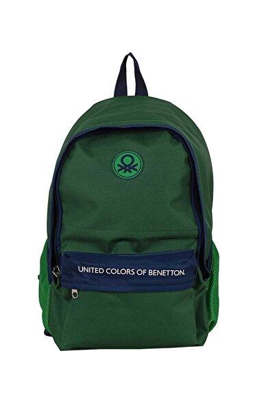 United Colors of Benetton Yeşil Unisex Sırt Çantası 1247589005322