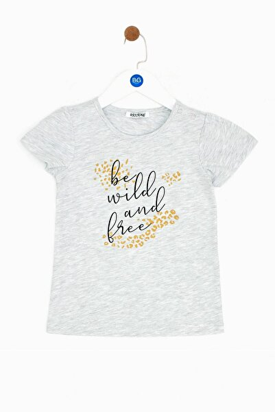 Riccione Kız Bebek Gri T-shirt 19ss0rr2529