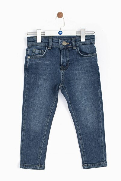 Riccione Erkek Bebek Mavi Pantolon