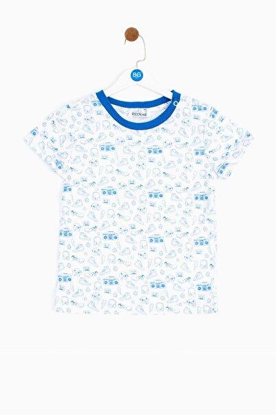Riccione Erkek Bebek Desenli T-shirt 19ss0rr1503