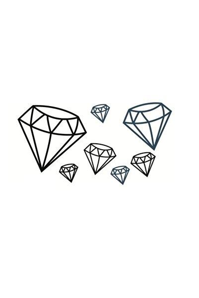 New Obsessions Diamonds Geçici Dövme