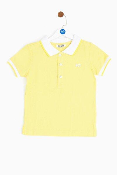 Riccione Erkek Bebek Sarı T-shirt 19ss0rr1523