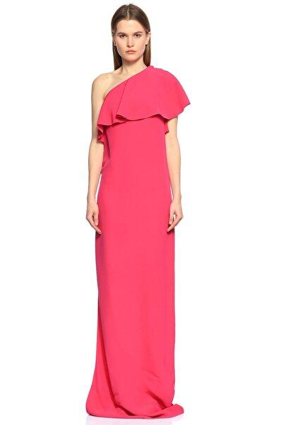 Lanvin Fuşta Uzun Gece Elbisesi
