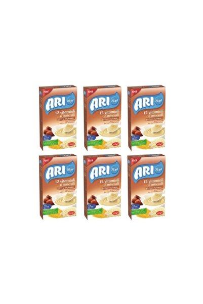 ARI Mama 12 Vitaminli 6 Mineralli Sütlü Hurmalı Pirinçli 200gr (6'lı Paket)